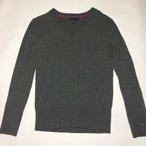 TOMMY HILFIGER women's gray sweater size Medium